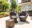 thumbs  - Outdoor seating, wicker sofas - Hotel Palladio Cervia (7/44)