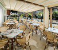 thumbs  - Raised terrace with tables - Hotel Bahamas Lido di Savio (6/28)