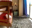 thumbs  - Double room with bunk bed overlooking the port and the sea - Hotel Mehari Riccione (21/24)