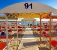 thumbs  - Beach equipped for children and 2 minutes from the hotel - Hotel Mehari Riccione (22/24)