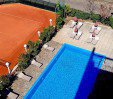 thumbs  - Swimming pool and tennis court for guests - Hotel Franca Milano Marittima (4/35)