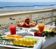 thumbs  - Breakfast on the balcony overlooking the sea - AmbientHotels Panoramic Viserba di Rimini (26/31)