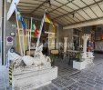 thumbs  - Flags and statues near the car entrance - Hotel Giordano Spiaggia Torre Pedrera (6/58)