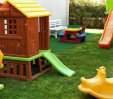 thumbs  - Garden with children's playground - Hotel Karina Riccione (27/30)
