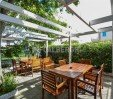 thumbs  - Gazebo in the garden, flowers, fruit trees, herbs - Hotel Viking Viserbella di Rimini (8/43)