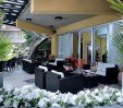 thumbs  - garden with tables and armchairs for your relaxation - Hotel Jorena Marebello di Rimini (4/45)