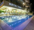 thumbs  - heated swimming pool (12.50x4 = 50 sqm) max. 130 cm - Hotel York Riccione (2/37)