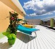 thumbs  - The terrace Solarium: impossible not to tan - Hotel Tre Stelle Rimini Mare (36/45)