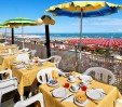 thumbs  - breakfast on the terrace overlooking the sea - Hotel Napoleon Beach Cattolica (17/47)