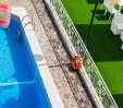 thumbs  - Pool top view and garden area - Hotel Clitunno Misano Adriatico (7/37)