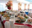 thumbs  - restaurant room - buffet of various appetizers and vegetables - Hotel Faber Rivazzurra di Rimini (6/24)