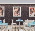 thumbs  - dining room with paintings by Tamara Lempicka - Hotel Magic Riccione (12/45)