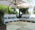 thumbs  - To have a chat while relaxing in the garden - Hotel Bisanzio Cesenatico Centro (9/64)