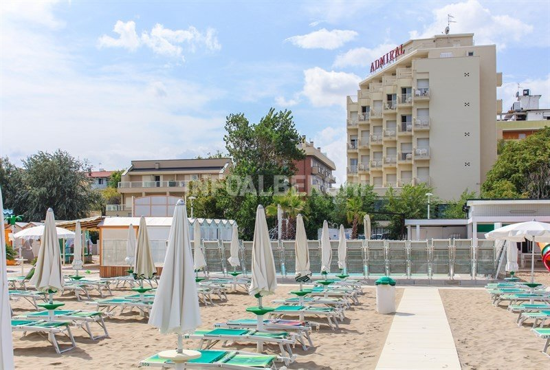 Hotel on the beach of riccione, rooms facing the sea - Hotel Admiral Riccione (2/40)