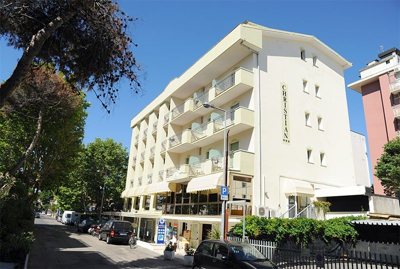 Near the sea, quiet area, private car parking - Hotel Christian Riccione (2/24)