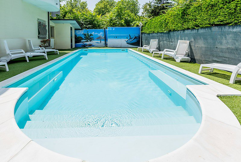 Our pool, height 1.40 - Hotel Monica Pinarella di Cervia (1/43)