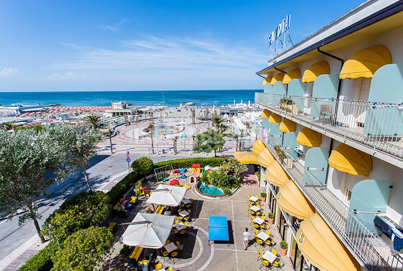 ... directly on the sea .... - Hotel Savoia Misano Adriatico (2/34)