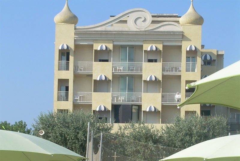 Hotel from the beach - AmbientHotels Panoramic Viserba di Rimini (2/31)