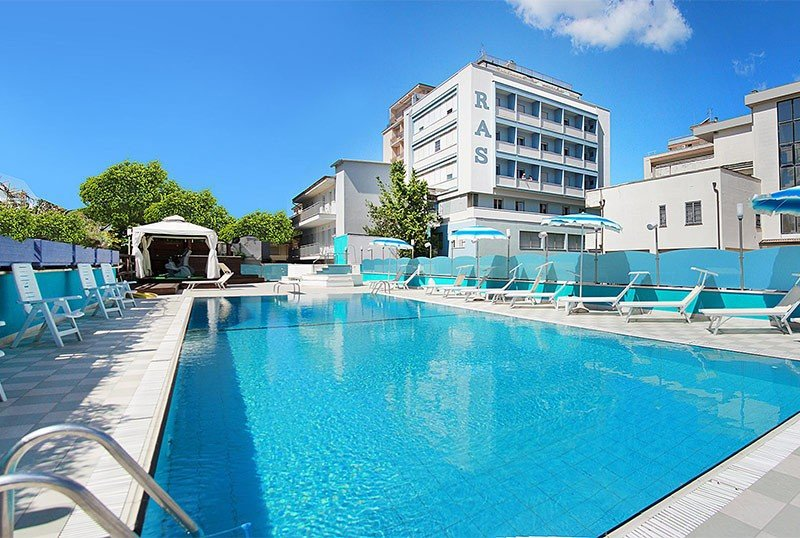 day swimming pool view - Hotel Ras Gatteo Mare (2/63)