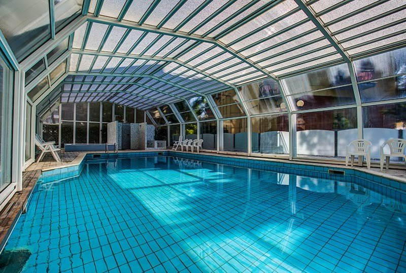 Indoor heated swimming pool: 29 ° - Hotel San Giorgio Milano Marittima (2/36)
