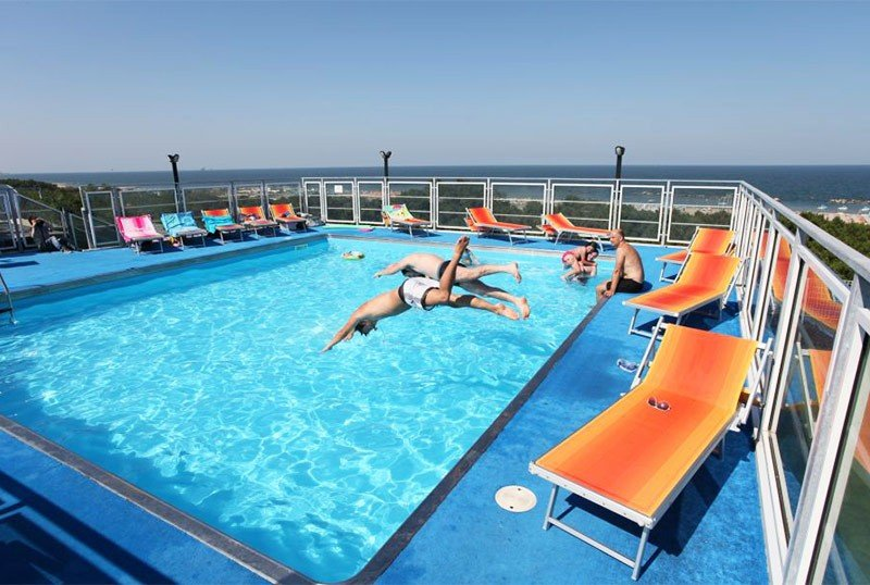 Panoramic swimming pool - Hotel Sorriso Lido di Classe (2/54)
