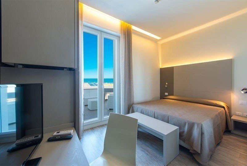 room quality plus attic balcony facing the sea - Hotel 2000 Rivazzurra di Rimini (2/33)