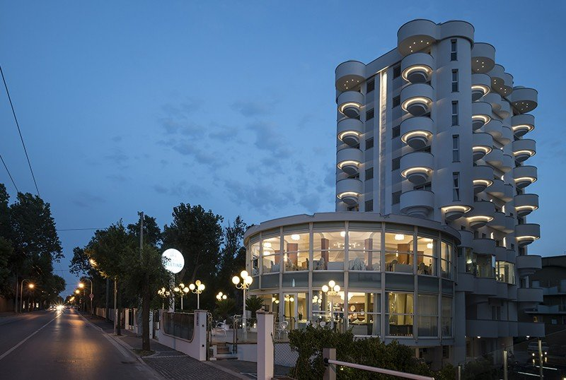 exterior of the structure - Hotel Meeting Riccione (2/73)