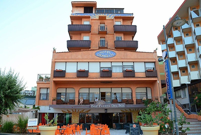 facade of the hotel - Hotel Giorgetti Palace Bellaria (2/33)