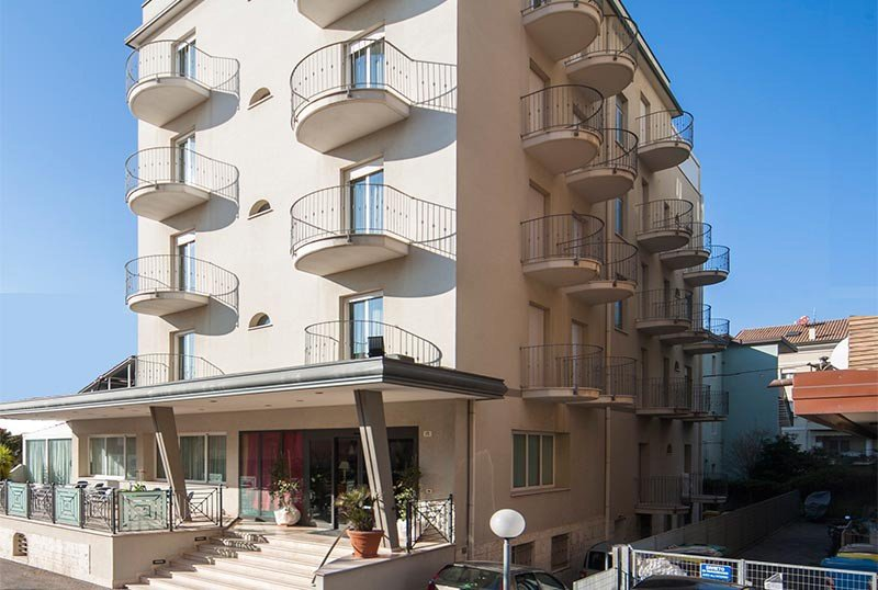 Facade of the structure - Hotel Jana Rimini Mare (2/38)