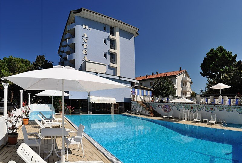 100sqm swimming pool. from 80 cm height. 3 mt. - Hotel Antea Pinarella di Cervia (2/34)