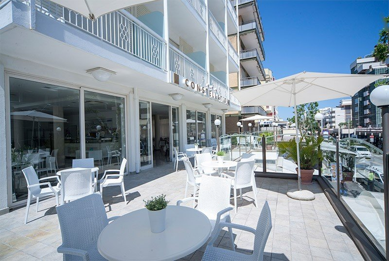 terrace restaurant - Hotel Constellation Rimini Mare (2/30)