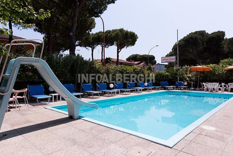 Heated pool with slide - Hotel Zani Cervia (2/41)